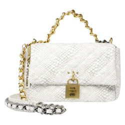 Steve Madden Quilted Chain Accent Crossbody Bag