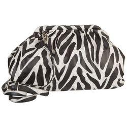 Steve Madden Daring Zebra Chain Crossbody Bag