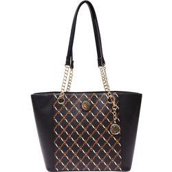 Anne Klein Status Chain Tote Handbag