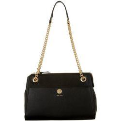 Anne Klein Solid Chain Shoulder Strap Handbag