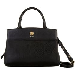 Anne Klein Top Handle Solid Satchel Handbag