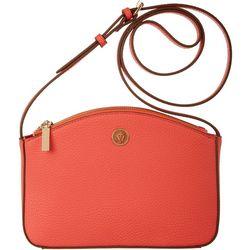 Anne Klein Hot Coral Crossbody Handbag