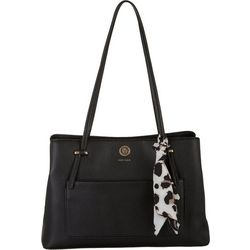 Anne Klein Solid Satchel Handbag