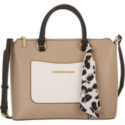 Anne Klein Tri Tone Satchel Handbag