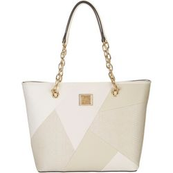 Anne Klein Patchwork Perfection Tote Handbag