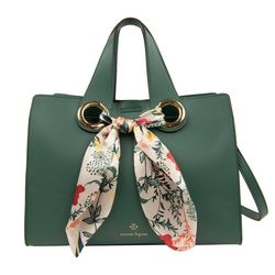 Nanette Lepore Niccola Scarf Satchel Handbag