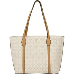 Nanette Lepore Logo Shopper Shoulder Handbag