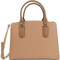 Contrast Satchel Handbag
