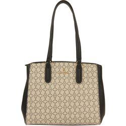 Nanette Lepore Logo Print Tote Handbag