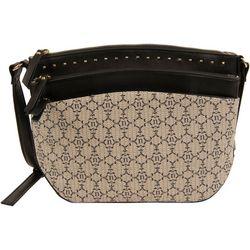 Nanette Lepore Logo Crossbody Handbag
