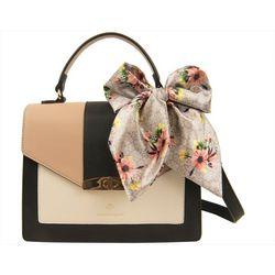 Nanette Lepore Priya Colorblock Satchel Handbag