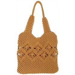 Nanette Lepore Macrame Tote Bag