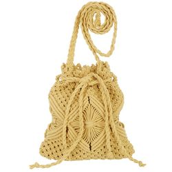Nanette Lepore Macrame Crossbody Bag