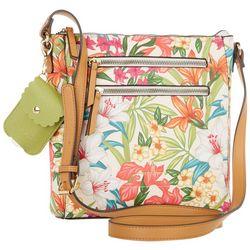 Nanette Lepore Leela Tropical Crossbody Handbag