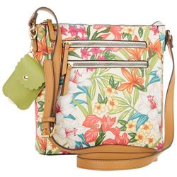 Leela Tropical Crossbody Handbag
