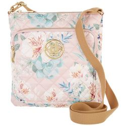 Nanette Lepore Floral Washable Quilted Crossbody