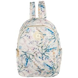 Nanette Lepore Washable Quilted Floral Backpack