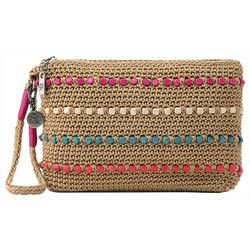 THE SAK Sayulita Beaded Crochet Wristlet