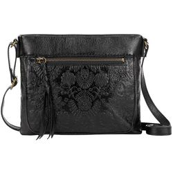 THE SAK Sanibel Leather Floral Crossbody Handbag