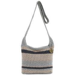 THE SAK Bold Stripe Pattern Riveria Crossbody Handbag
