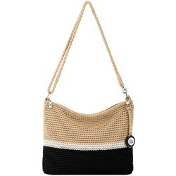 The Sak Classic Casual Crochet Bamboo Block 3-in-1 Crossbody
