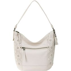 The Sak Sequoia Laser Cut Medallion Hobo