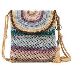 Sakroots Sayulita Striped Crochet Crossbody