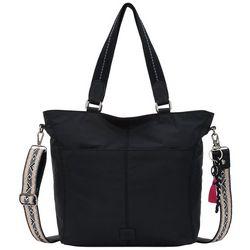 THE SAK Esperato Solid Nylon Tote Handbag