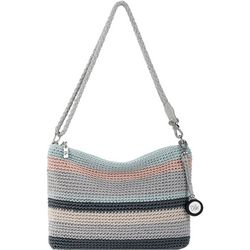 THE SAK 3-in-1 Striped Crochet Demi Crossbody Handbag