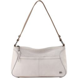 Iris Perforated Hobo Handbag