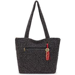 THE SAK Riveria Crochet Tote Handbag