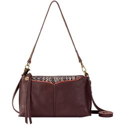 The Sak Silverlake Leather 3-1 Zipper Crossbody