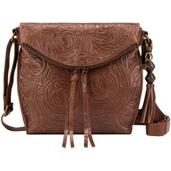 The Sak Silverlake Embossed Leather Crossbody