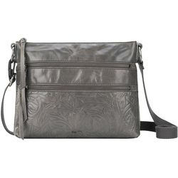 The Sak Reseda Embossed Leather Crossbody
