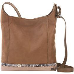THE SAK De Young Snake Accent Colorblock Hobo Handbag