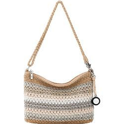 THE SAK 3-in-1 Crochet Stripes Demi Crossbody Handbag
