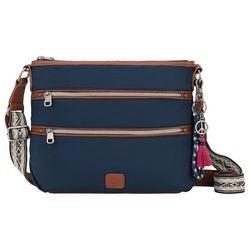 THE SAK Esperato Navy Blue Nylon Crossbody Handbag
