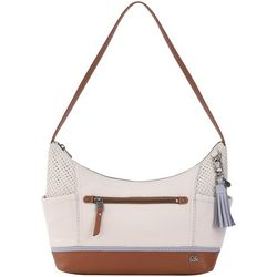 THE SAK Kendra Colorblock Perforated Hobo Handbag