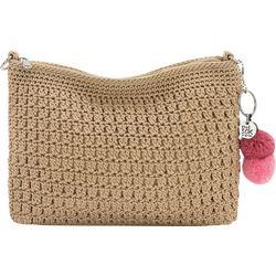 THE SAK Solid Crochet Classic 3-In-1 Demi Crossbody Handbag