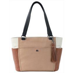 THE SAK Ashby Colorblock Satchel Handbag