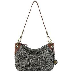 THE SAK Metallic Indio Crochet Demi Handbag