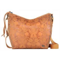 THE SAK Saratoga Embossed Floral Crossbody Handbag