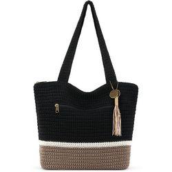 THE SAK Riveria Blocked Tote Handbag 0bf17908e6