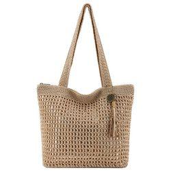 Riveria Solid Tote Handbag