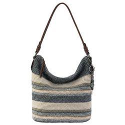 THE SAK Sequoia Striped Crochet Hobo