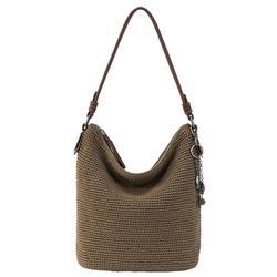 Sequoia Solid Crochet Hobo Handbag
