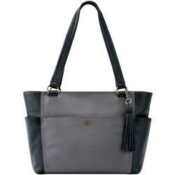 THE SAK Ashby Colorblock Design Satchel Handbag