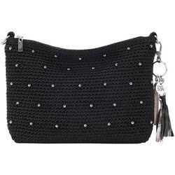 THE SAK 3-in-1 Beaded Crochet Demi Crossbody Handbag