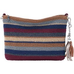 THE SAK 3-in-1 Crochet Stripes Demi Crossbody Handbag