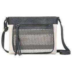 THE SAK Sanibel Metallic Woven Leather Crossbody Handbag
